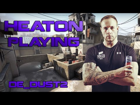 Legends in CS:GO: HeatoN playing de_dust2