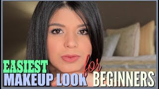 Quick and Easy Eyeshadow Look for Beginners | Makeup 101