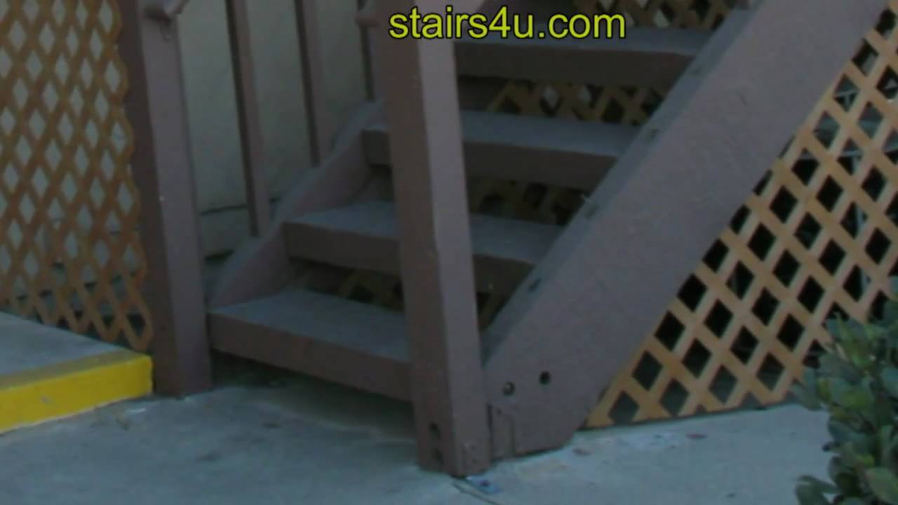 Steps porch stairs stairs paint exterior wood stairs painted exterior - Painting The Bottom Of Exterior Stair Stringers Stair Building Education