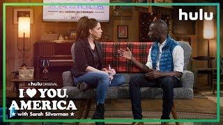Sarah Silverman Interviews DeRay Mckesson | I Love You, America on Hulu