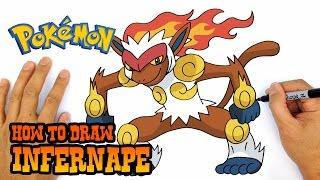 How to Draw Pokemon | Infernape