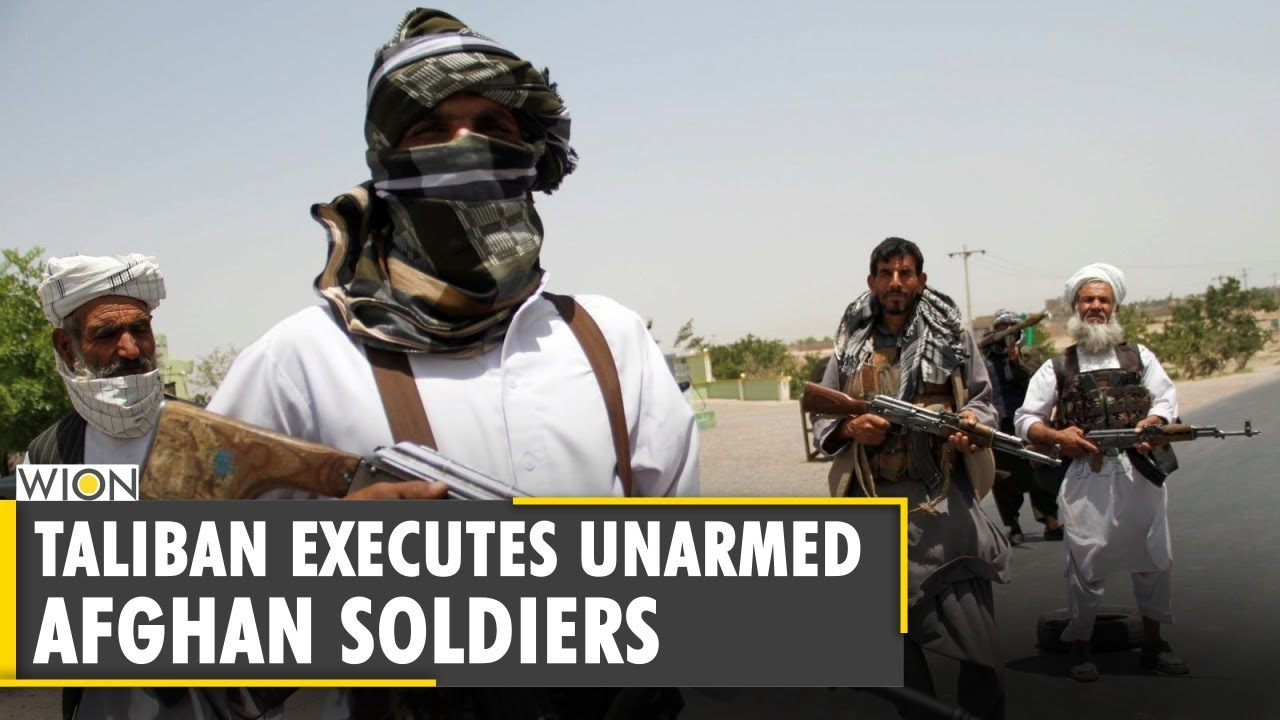 Download Taliban fighters execute 22 unarmed Afghan soldiers who surrendered | English World News | WION