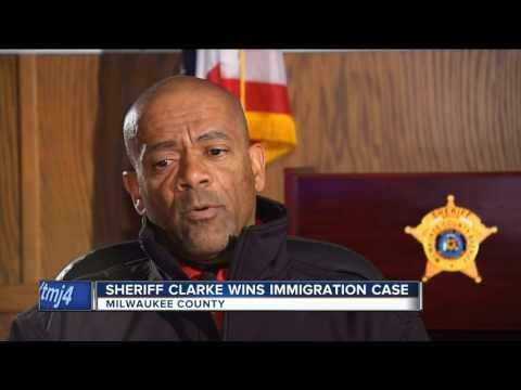 Court: Sheriff Clarke exempt from releasing immigration records