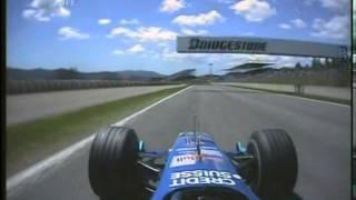 F1 Spain 2004 Q1 - Giancarlo Fisichella Onboard