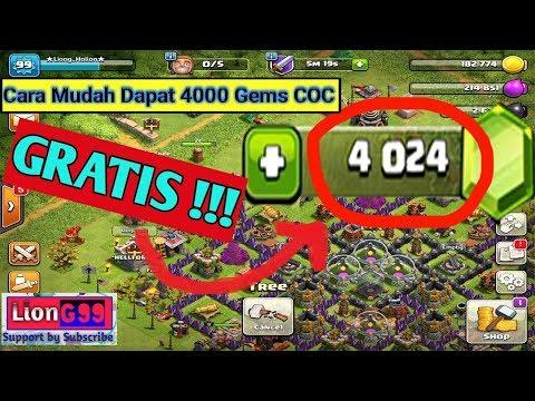 Cara Mudah mendapatkan Gems COC Gratis - Clash Of Clans