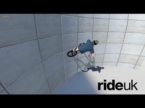 BMX Streets: New BMX Video Game - Test Footage 2 - Wallrides & Tailwhips