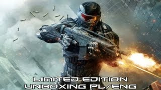 Crysis 2 Limited Edition for Xbox 360 Unboxing PL/ENG