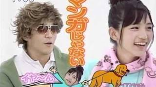 若かりし頃の川口春奈ちゃんです。 なかなかの天然ボケっぷりを 披露し...