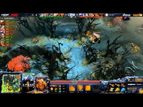 Secret vs BG - DAC 2015 - LB - Finals - G2