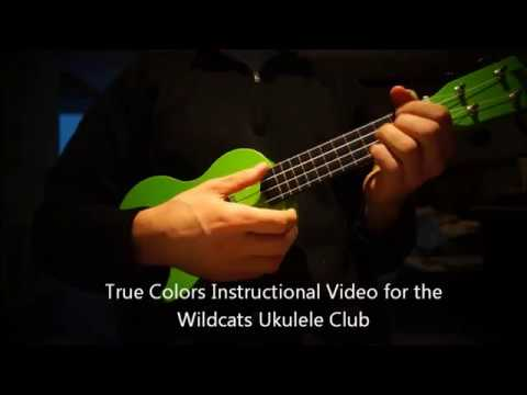 True Colors Uke Club Instructional Youtube