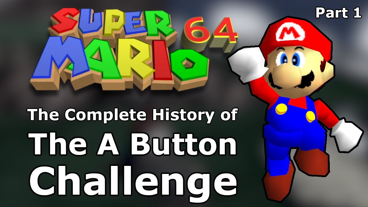 How Gaming's Most Iconic Challenge Was Invented - The History of the SM64 A Button Challenge