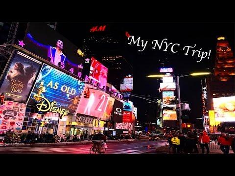 Alexis Takes NYC!! (Vlog)