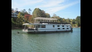 2012 Majestic 16 x 75WB 6-Bedroom Houseboat For Sale on Norris Lake TN