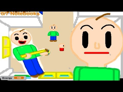 Baldi's Basics Scratch Edition