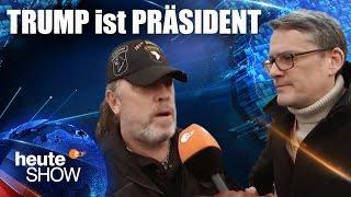 Ralf Kabelka bei Donald Trumps Vereidigungsfeier | heute-show vom 27.01.2017