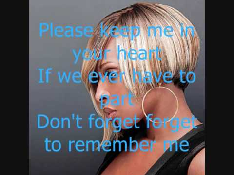 Remember Me TI ft Mary J. Bligew/ lyrics on screen