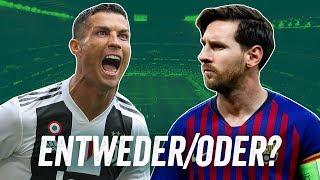 Messi oder Ronaldo? Dortmund oder Schalke? Premier League oder La Liga? Entweder/Oder - Onefootball