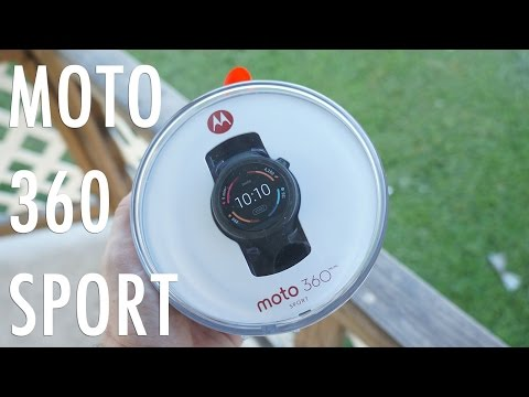 Moto 360 Sport - Unboxing and First Impressions