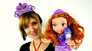 Видео для детей 👑 Принцесса София наряжается 👸 Игры Май Литл Пони. Волшебная Коробка Капуки Кануки