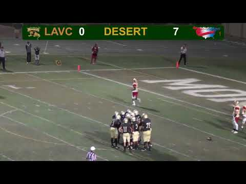 LA Valley College Football vs College of the Desert
