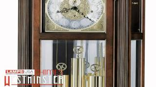 Howard Miller Benjamin Floor Grandfather Clock Chimes 610 983