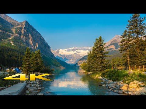 Banff National Park Canada 4K 🇨🇦