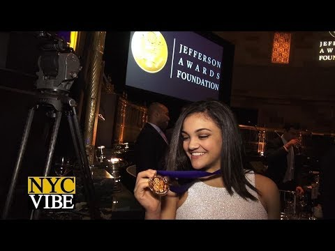 Laurie Hernandez – Coverage The 2017 Jefferson Awards Foundation Ceremony