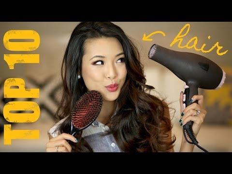 My Top 10 MUST HAVE Hair Products!