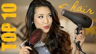My Top 10 MUST HAVE Hair Products! Thumbnail