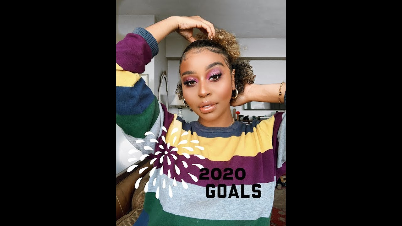 2020 Goals Part 2| EYE LOOK| Hairaconda