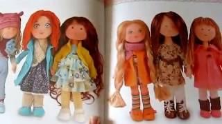 Отзыв Обзор книги А. Броссар Куклы из ткани во французском стиле.