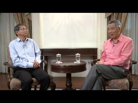 PM Lee Hsien Loong: Interview with CLC 2 (importance of heritage)