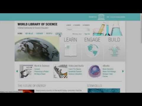 The World Library of Science Launch Ceremony