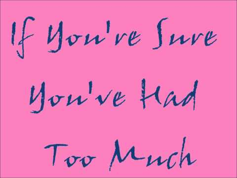 Everybody Hurts Lyrics - The Corrs