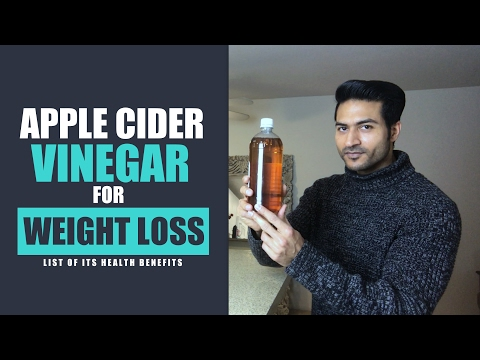"""Apple Cider Vinegar"" For WEIGHT LOSS & Its Health Benefits 