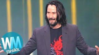 ¡Top 10 Veces que Keanu Reeves ROMPIÓ el Internet!
