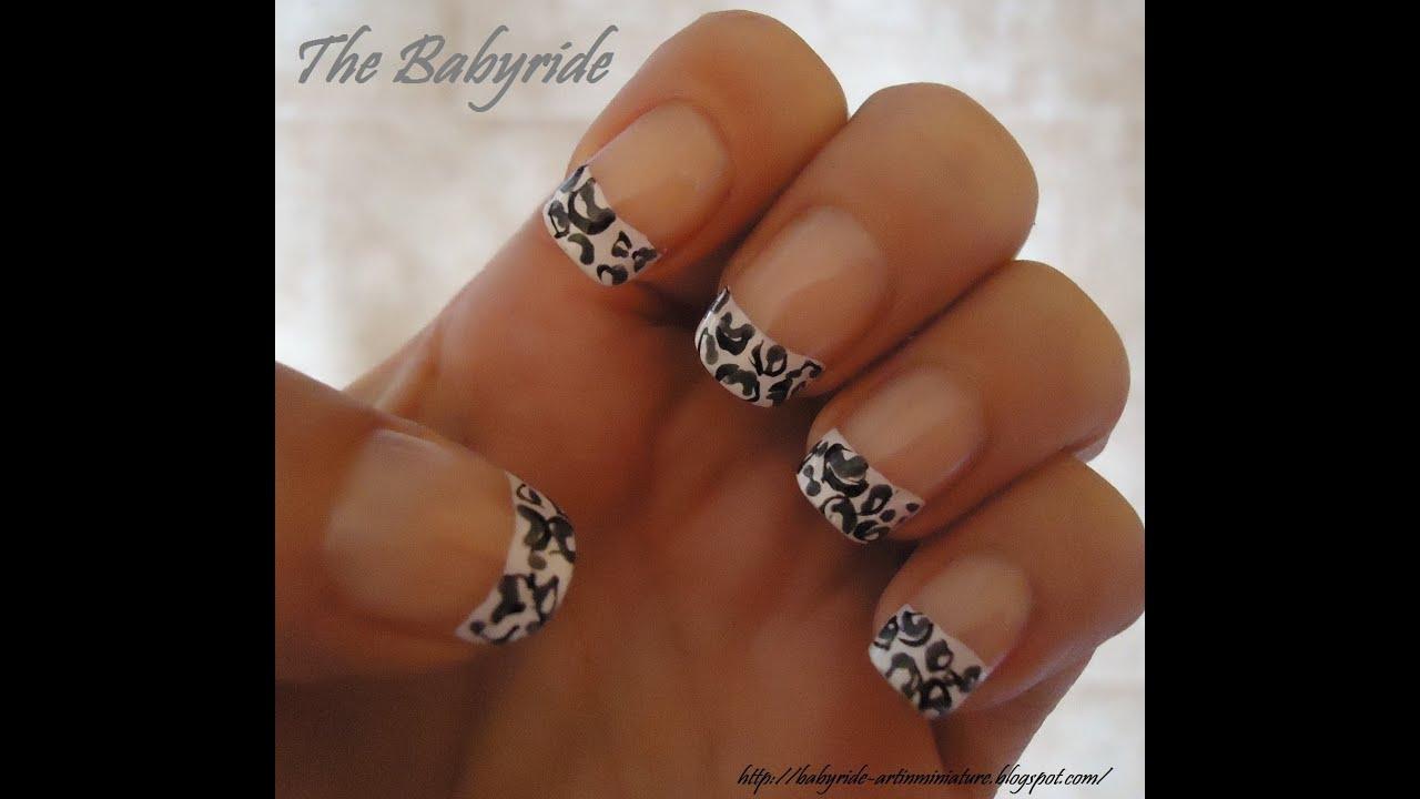 Nail Art Leopard (Decorazione Unghie Leopardo)