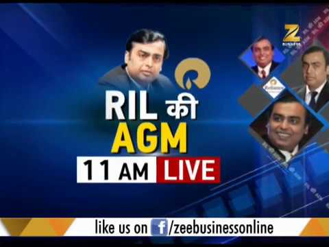 First Trade: RIL 40th AGM today, announcement of Rs 500 4G phone expected
