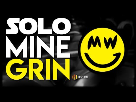 How To Solo Mine Grin