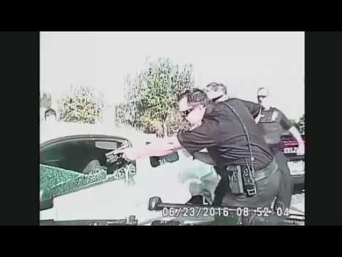 Melbourne FL Police Chase June 23, 2016 Officer Injured