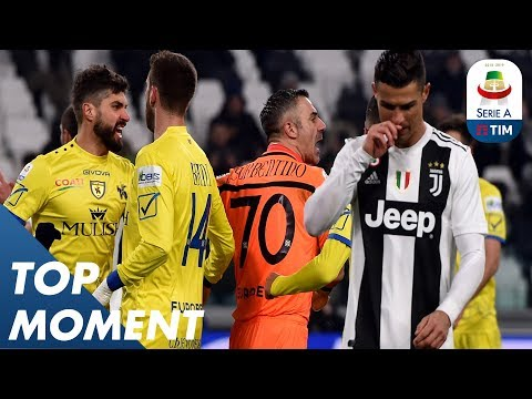 Ronaldos Penalty SAVED by Sorrentino! | Juventus 3-0 Chievo | Top Moment | Serie A