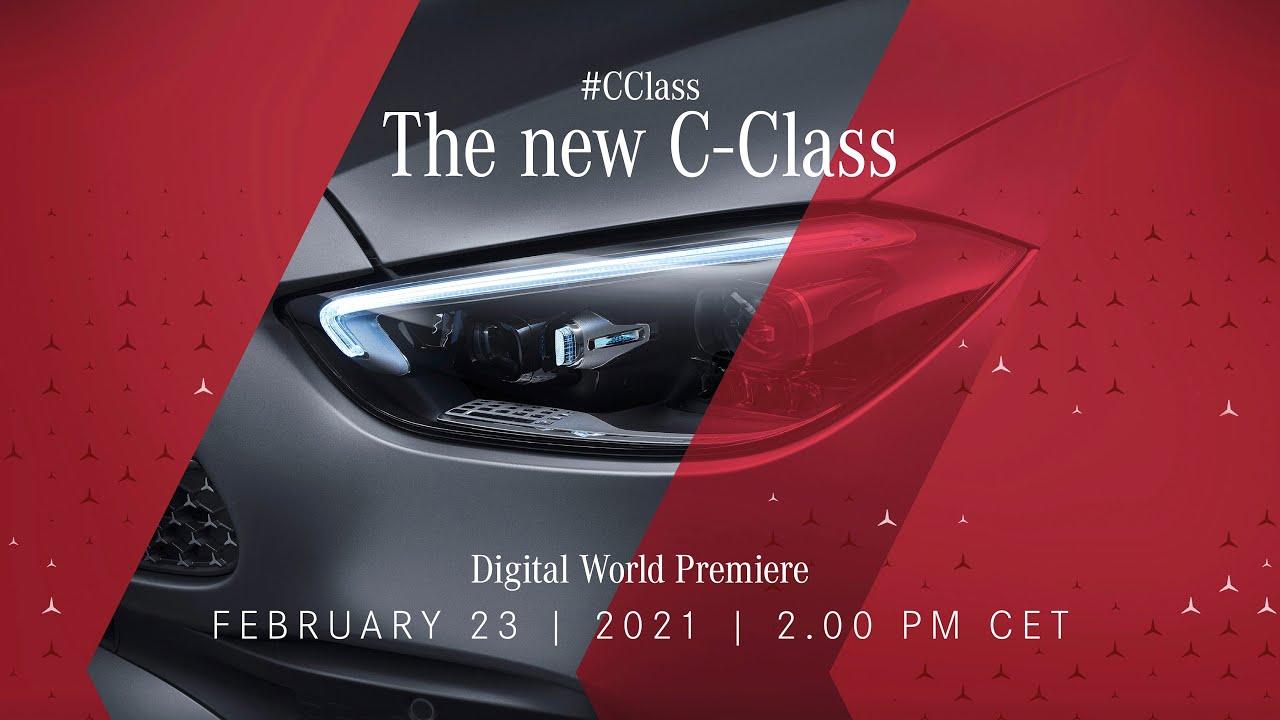 Digital World Premiere of the new C-Class | New Mercedes-Benz C-Class | Baby S-Class! #CClass