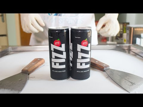 APPY FIZZ ICE CREAM ROLLS - SATISFYING ASMR VIDEO