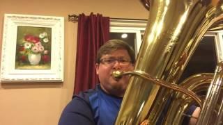 Happy Birthday- tuba version