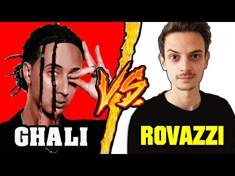 Ghali (Vodafone) VS Fabio Rovazzi (Big Babol) - Battaglia Rap Epica - Manuel Aski