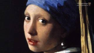 Girl with a pearl earring by the Dutch painter Jan Vermeer