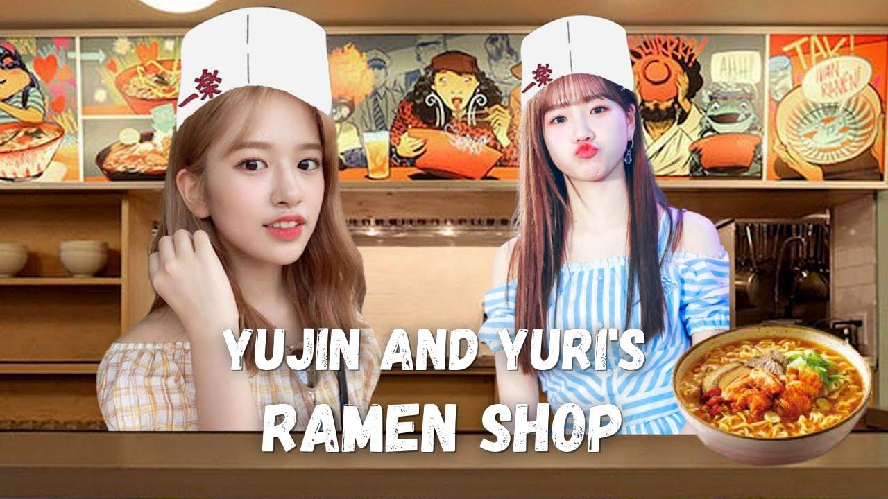 Yujin and Yuri makes ramen