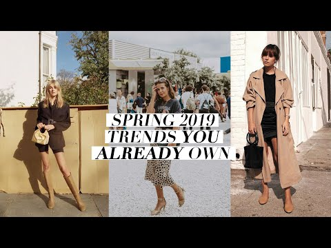 2019 FASHION TRENDS YOU ALREADY OWN + HOW TO STYLE THEM (Spring 2019 Style Trends) | Mademoiselle
