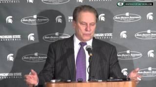 Tom Izzo Press Conference: MSU 66 Penn State 60