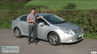 Toyota Avensis review - CarBuyer